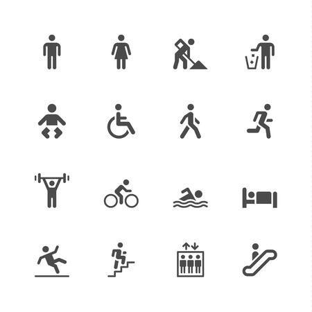 Ilustración de People icons - Imagen libre de derechos