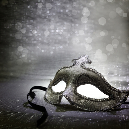 Foto de Vintage venetian carnival mask  - Imagen libre de derechos