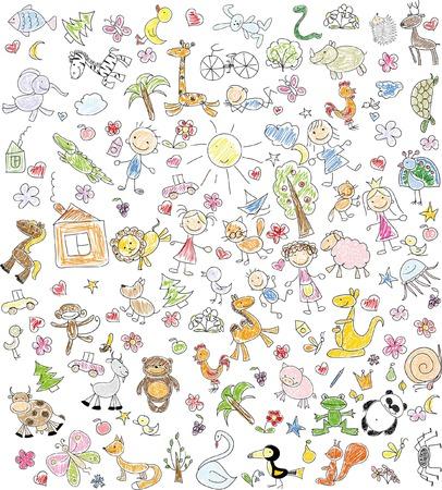 Illustrazione per Children\\ - Immagini Royalty Free