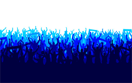 Illustrazione per Banner for sports championships and concerts - Immagini Royalty Free