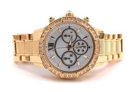 Photo pour wristwatch on white background - image libre de droit
