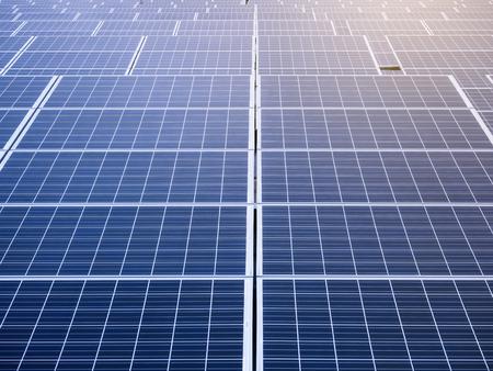 Photo pour Solar Panels Renewable Energy saving Ecology Industry concept - image libre de droit