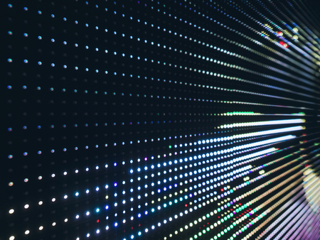 Foto de Led light Pattern Gradient Technology Abstract background - Imagen libre de derechos