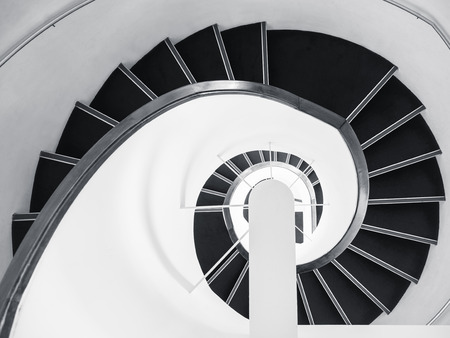 Photo for Spiral Staircase Architecture details Art abstract background - Royalty Free Image