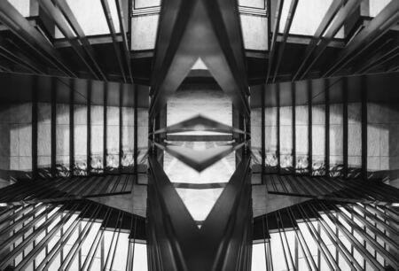 Foto de Stairs step walkway staircase design Architecture details Abstract background - Imagen libre de derechos