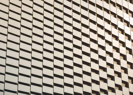 Foto de Architecture details glass facade  geometric pattern Modern building Abstract background - Imagen libre de derechos