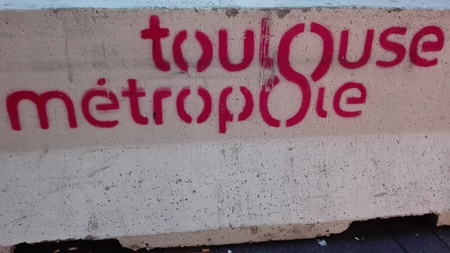Foto de toulouse metro - Imagen libre de derechos