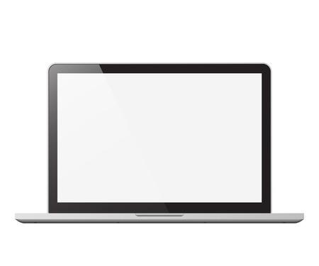 Illustration pour laptop isolated vector illustration - image libre de droit