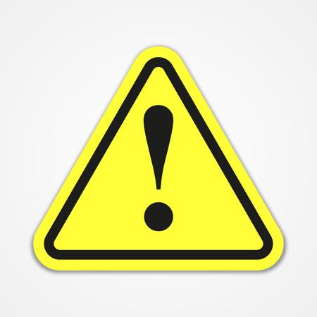 Ilustración de Danger warning attention sign - Imagen libre de derechos
