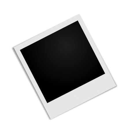 Illustration pour Photo Frame with shadow - image libre de droit