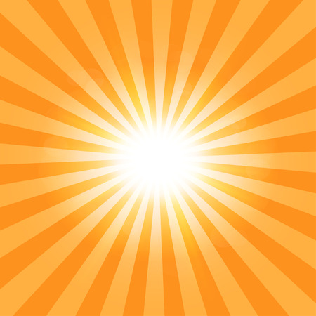 Illustration for The sun's rays pattern background - Royalty Free Image