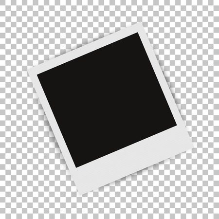 Illustration pour Photo Frame with shadow - image libre de droit