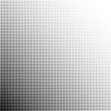 Illustration pour Halftone dots gradient point at 45 degrees - image libre de droit