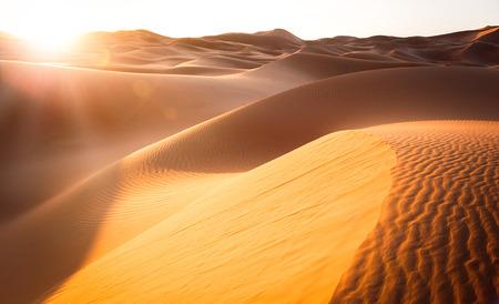 Foto de Beautiful sand dunes in the Sahara. Morocco, Africa - Imagen libre de derechos