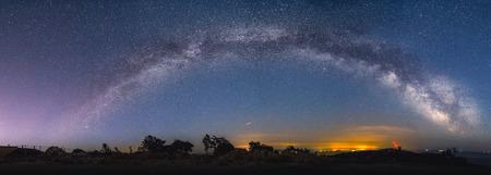 Foto de Milky way on Mali losinj in Croatia - Imagen libre de derechos