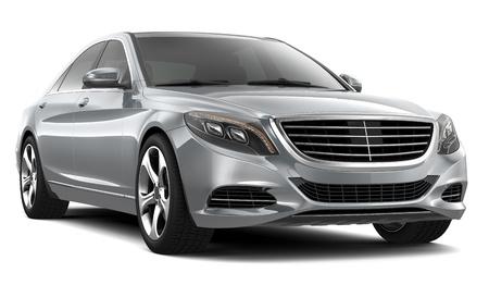 Foto de Silver Luxury Car - Imagen libre de derechos