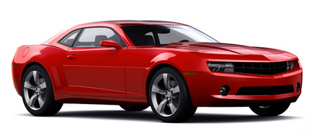 Photo for Red sports car - Royalty Free Image