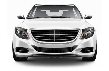 Photo for White luxury car - Royalty Free Image