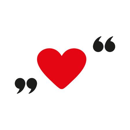Illustrazione per The love icon - Immagini Royalty Free
