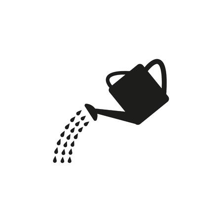 Illustration pour The watering can icon - image libre de droit