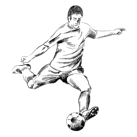 football player on the white