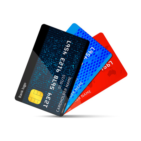 Illustration pour Vector credit card - image libre de droit