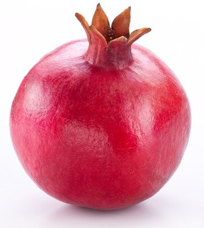 Photo pour Pomegranate isolated on a white background.  - image libre de droit