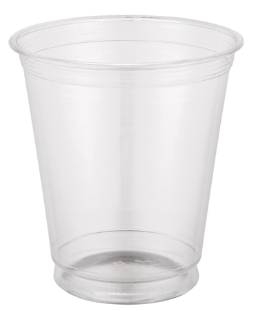 Photo for Empty plastic cup. - Royalty Free Image