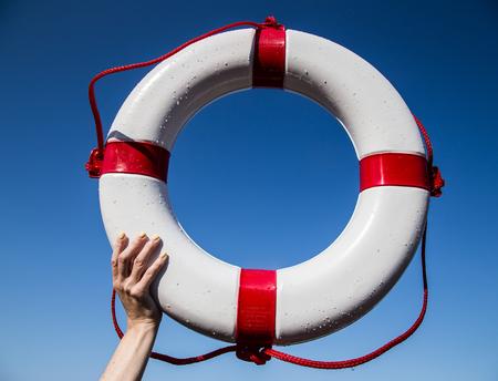 Foto de Lifesaver ring - Imagen libre de derechos