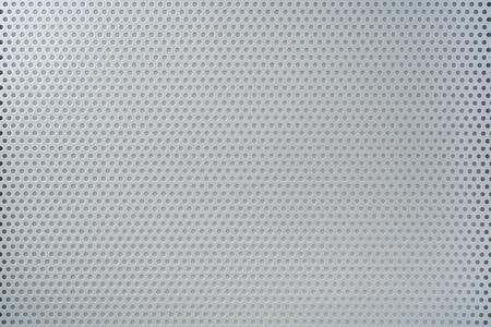 Photo pour Design concept - iron plate with hold for mockup - image libre de droit