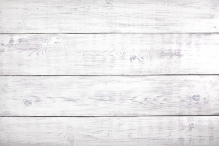 Foto de Old white rustic wood background, wooden surface with copy space - Imagen libre de derechos