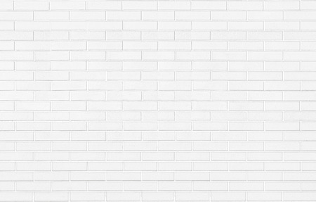 Foto de White brick stone wall background texture horizontal - Imagen libre de derechos