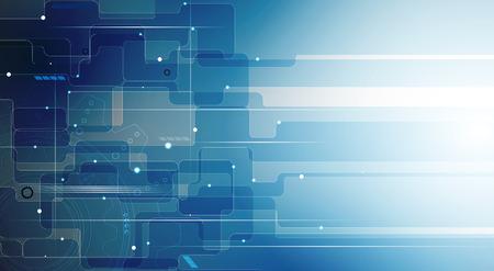 Illustration pour Elegant background for business tech presentations. - image libre de droit