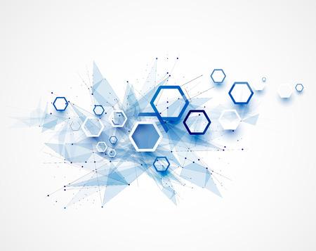 Ilustración de Integration and innivation technology. Best ideas for Business presentation model - Imagen libre de derechos