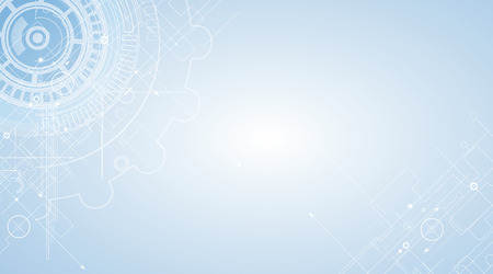 Photo for Abstract tech background. Futuristic interface. - Royalty Free Image