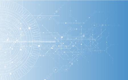 Photo pour New Model Technology Business Background - image libre de droit