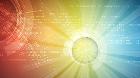 Ilustración de abstract futuristic fade computer technology business background - Imagen libre de derechos