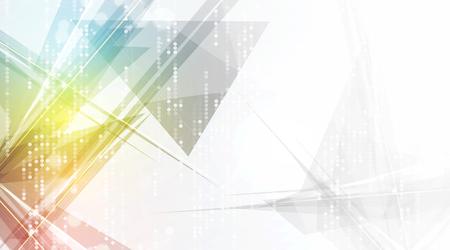 Photo pour abstract futuristic fade computer technology business background - image libre de droit