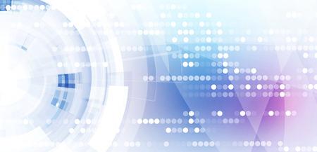 Photo pour Abstract digital web site header. Banner tecnology background - image libre de droit