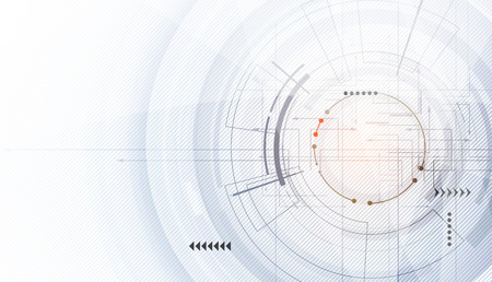 Illustration pour Abstract digital web site header. Banner tecnology background - image libre de droit