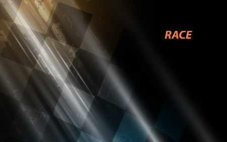 Illustration pour Racing square background, abstraction in racing car track - image libre de droit