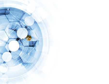 Foto für dna and medical and technology background. futuristic molecule structure presentation. for business solution - Lizenzfreies Bild