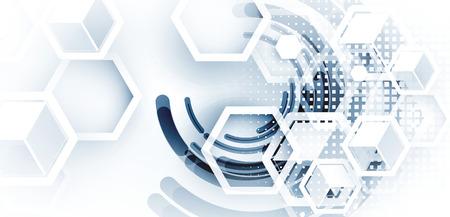 Foto de Digital technology world. Business virtual concept - Imagen libre de derechos