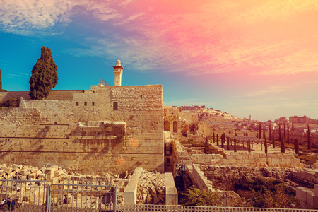 Photo for Old city Jerusalem - Royalty Free Image