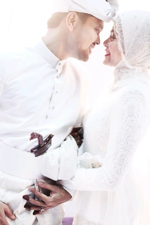 Photo pour Malaysian Malay Wedding - image libre de droit