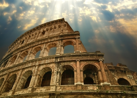Photo for Great Colosseum in Rome - Royalty Free Image