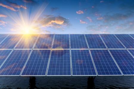 Photo pour Solar panels - image libre de droit