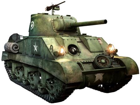 Photo pour Sherman tank - image libre de droit