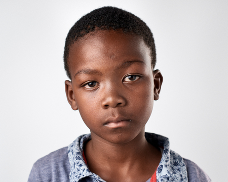 Photo for portrait of young african black boy - Royalty Free Image