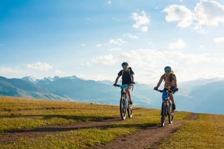 Foto de mountain bike - Imagen libre de derechos